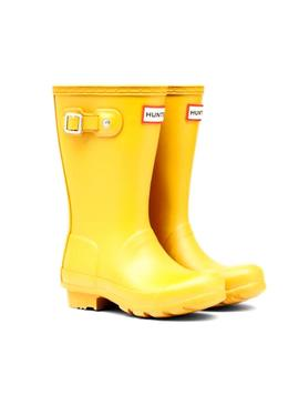 Boots Hunter Kids Original Jaune