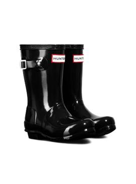 Boots Hunter Little Original Gloss Black