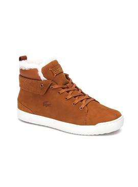 Bottines Lacoste Explorateur Camel Homme