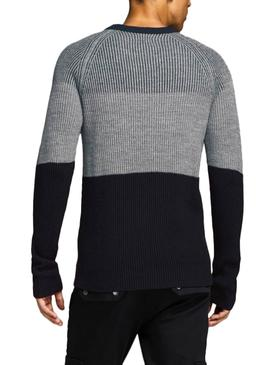 Pull Jack and Jones Frankie Gris Homme