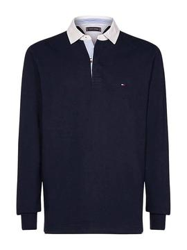 Tommy Hilfiger Iavecic Polo Rugby Marine Homme