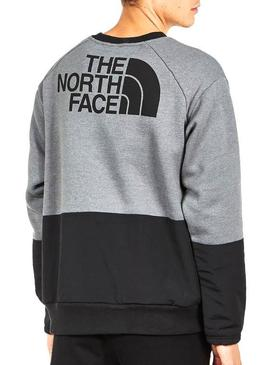 Pull The North Face Graphic Gris Homme