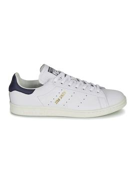 Baskets Encre Adidas Stan Smith Blanc Femme