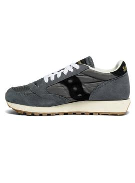 Baskets Saucony Jazz Original Vintage Gris Fe