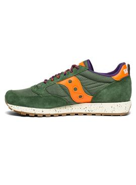 Baskets Saucony Jazz Original Vert Orange