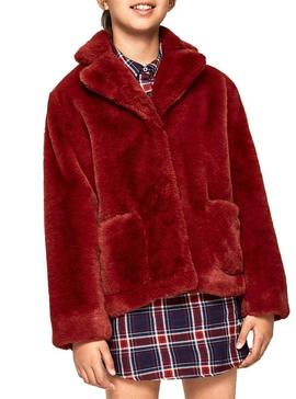 Veste Pepe Jeans Columba Rouge Fille