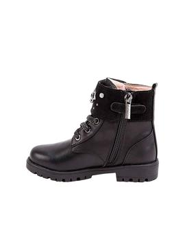 Bottines Mayoral Black Stars Pour Fille