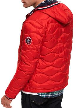 Veste Superdry Wave Rouge