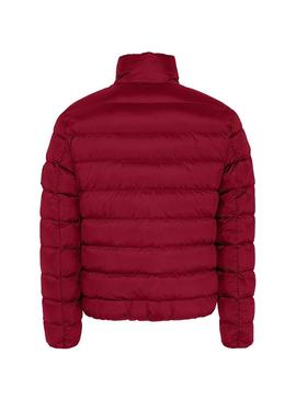 Veste Tommy Jeans Essential Down Rouge Homme