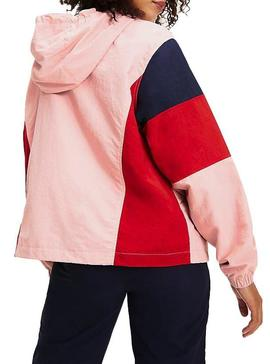 Coupe-vent Tommy Jeans Colorblock Panel Femme