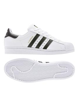 Baskets Adidas Superstar Blanc Pour Homme