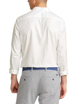 Chemise Dockers Oxford Stretch Blanc Homme