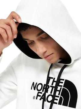 Sweat The North Face Drew Blanc Homme