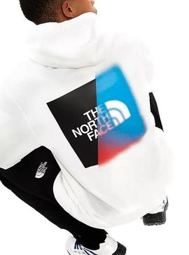Sweat The North Face Graphic Blanc Homme