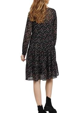 Vila Flis Black Dress Femme