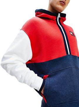 Sweat Tommy Jeans Couleur Hoodie Homme