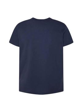 T-Shirt Pepe Jeans Trey Marino Homme