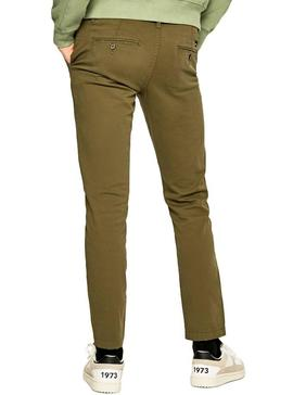 Pantalon Pepe Jeans Charly Vert Homme