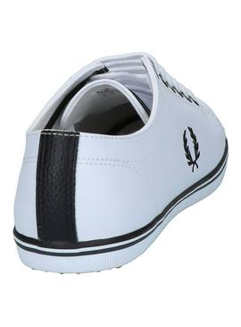 Baskets Fred Perry Kingston Blanc Homme