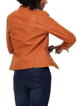 Veste Only Ava Orange Femme