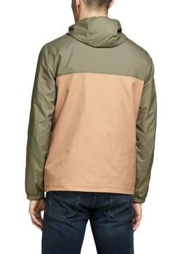 Veste Jack and Jones Jorcott Camel Homme