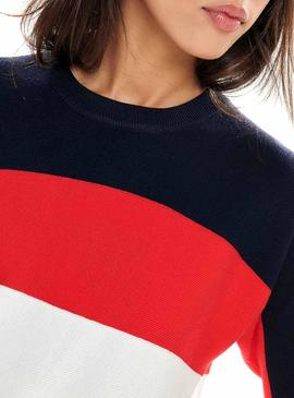 Pull Only Regitze Marine Pour Femme