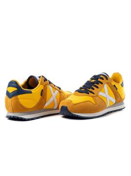 Baskets Munich Massana 367 Jaune Homme
