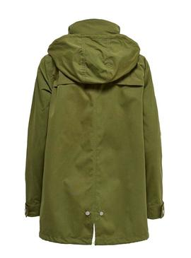 Parka Only Awesome Vert for Femme