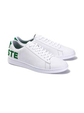 Baskets Lacoste Carnaby Evo 120 Blanc Homme