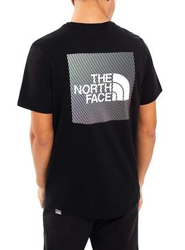 T-Shirt The North Face Rainbow Noir Homme