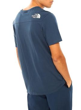 T-Shirt The North Face Light Marine Homme