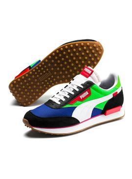 Baskets Puma Future Rider Play On Vert Homme