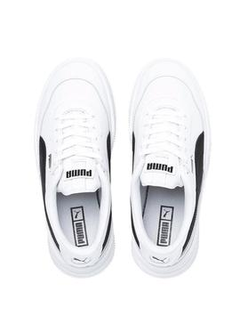 Baskets Puma Deva Leather Blanc Femme