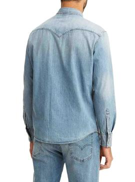 Chemise Levis Barstow Western Denim clair Homme