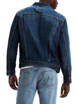 Veste Levis The Trucker Bleu Homme