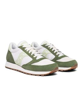 Baskets Saucony Jazz Original Vintage GRN Hom