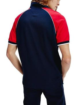 Polo Tommy Hilfiger AW Regular Marino Hombre