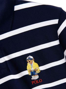 Polo Ralph Lauren Stripes Blue pour Homme