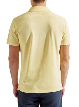 Polo Hackett Dyed Yellow pour homme