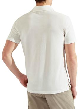 Polo Hackett Dyed White pour homme