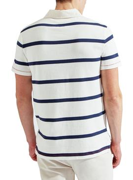 Polo Hackett Rugby Stripes pour homme