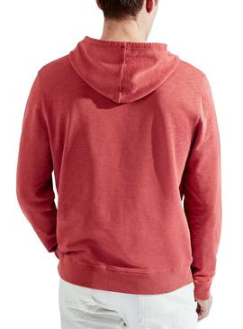 Sweat Hackett Hoody Rouge pour homme
