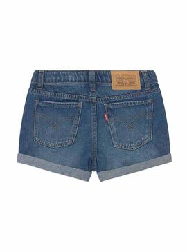Short Levis Girlfriend Dark pour Fille
