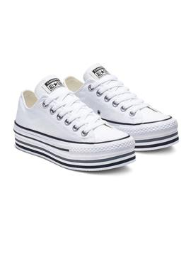 Converse Chuck Taylor All Star Platform Blanches
