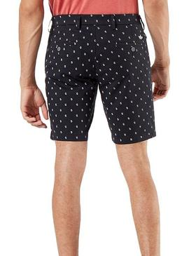 Dockers Shorts Blue Micro Drawing pour homme