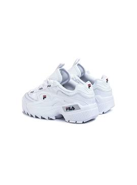 Baskets Fila D-Formation Heritage Blanches Femme