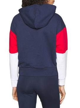 Sweat Fila Barret Crooped Marin Mujer