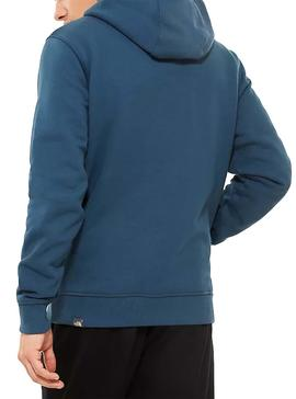 Sweat The North Face Drew Bleu para Homme