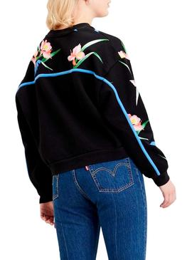 Sweat Levis Celeste Tropical pour Femme