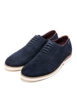 Chaussures Pepe Jeans Dave Marin pour Homme